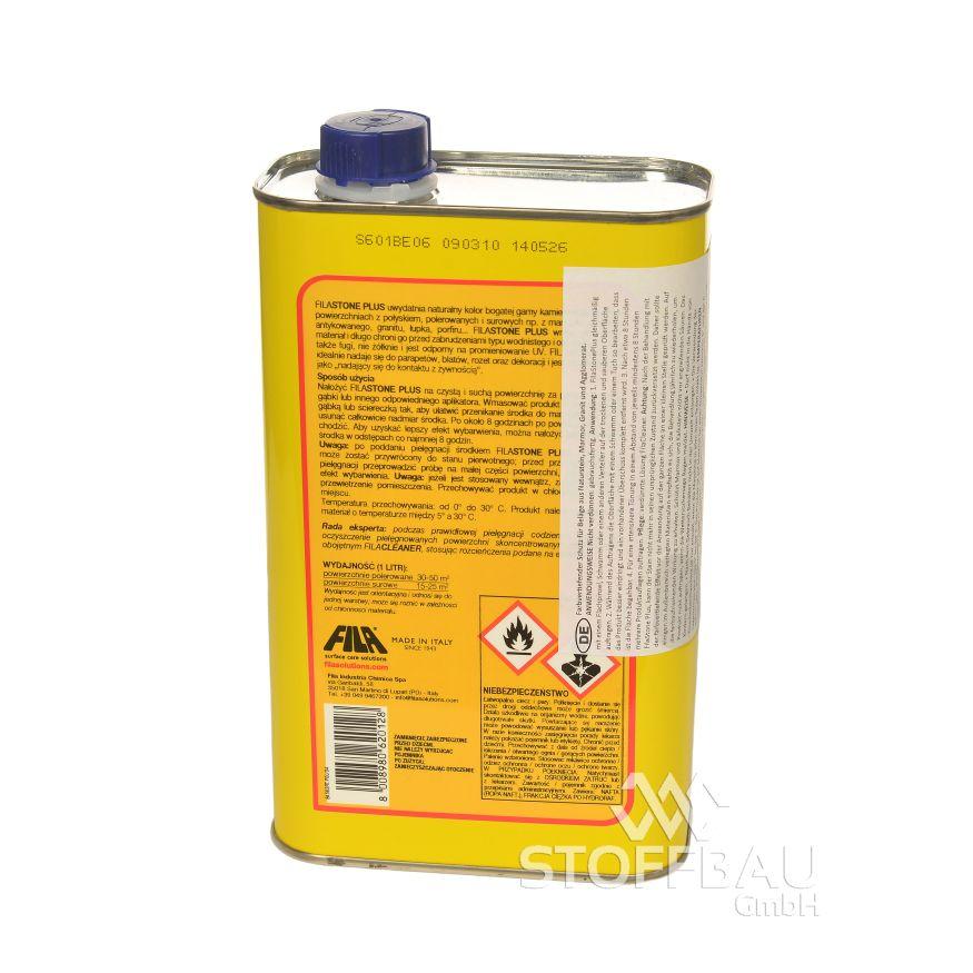 Details zu FILA STONE PLUS Farbauffrischendes fleckschutzmittel auf lösemittelbasis, 1 l